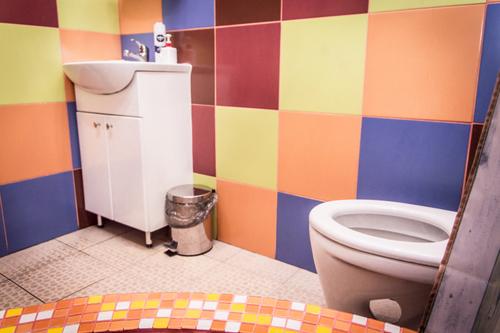туалет в CP HOSTEL