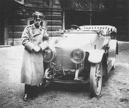 Великий князь Дмитрий Павлович – первый русский автогонщик