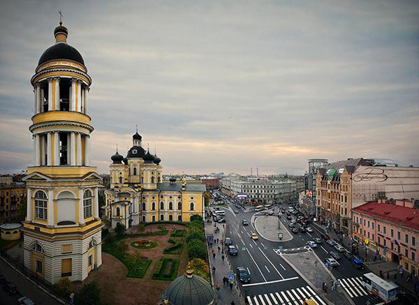 Вид на Владимирский собор