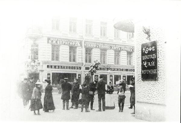 Кондитерская Филлипова на Невском проспекте