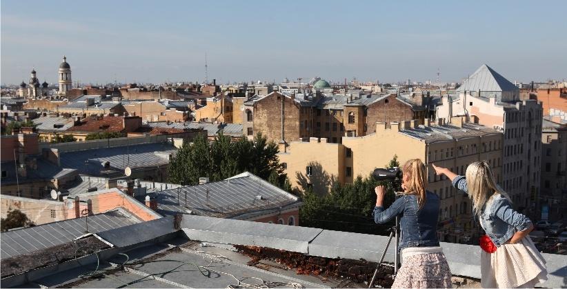 крыша лофт-проекта Этажи