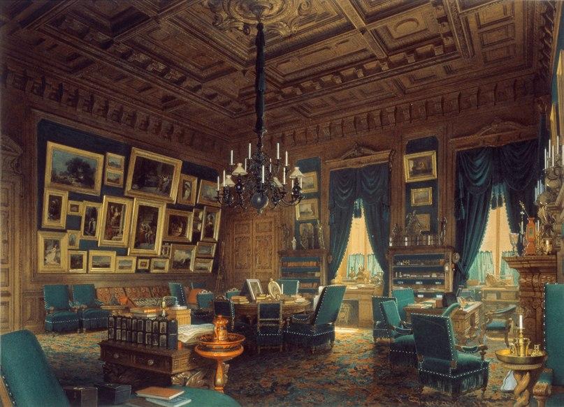 внутреннее убранство аничкого дворца