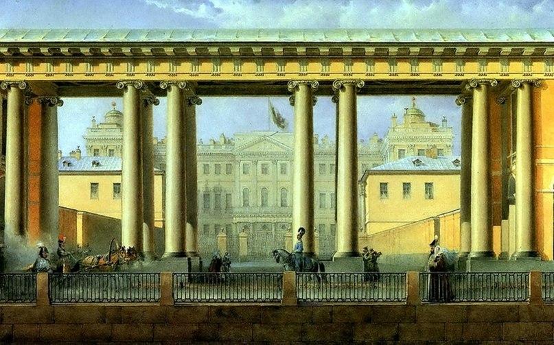 элементы отделки аничкого дворца