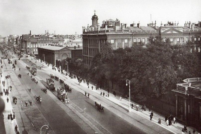 первое фото аничкого дворца